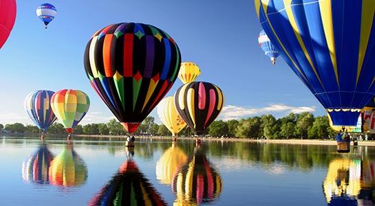 Highlights of Rte 66 & Albuquerque Balloon Fiesta