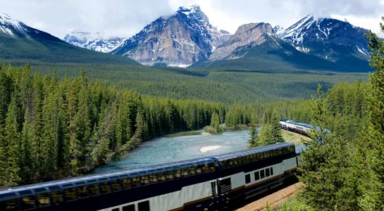 Great Canadian Rail Journey
