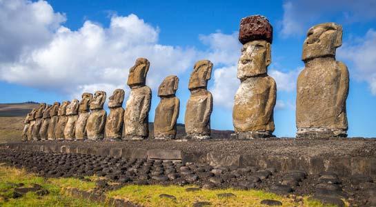 S. America Vineyards & Easter Island