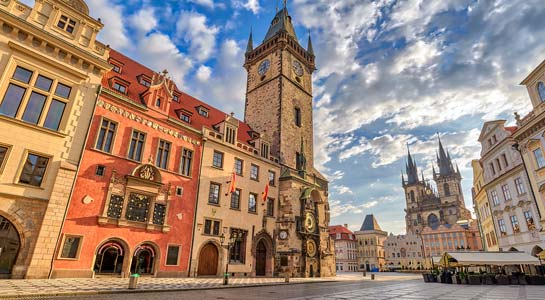 Prague, Vienna and Budapest