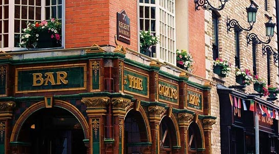 The Irish Pub Tour