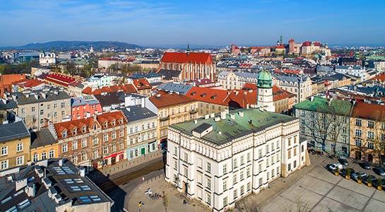 Warsaw, Budapest, Vienna and Prague