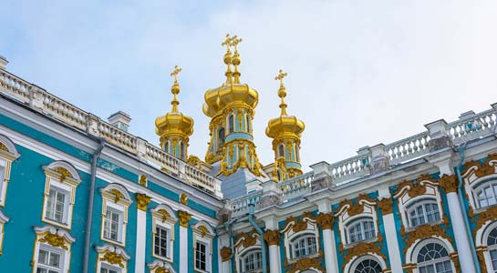 Festive St. Petersburg and Moscow