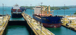 The Panama Canal Locks