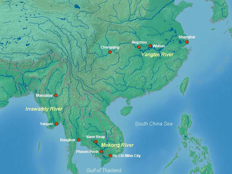 Asia Rivers
