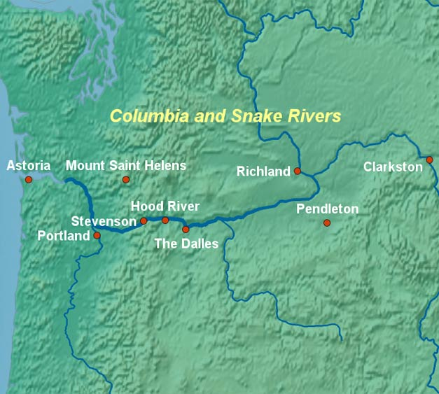 Columbia and Snake River Cruises