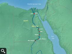 Nile River Map