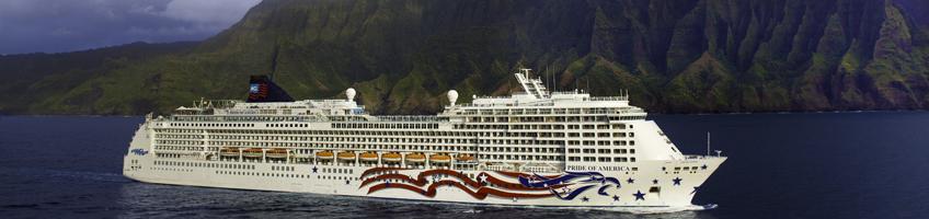 Pride Of America Cruise Ship From Norwegian Cruise Line